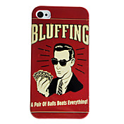 Case Modle Magicien dur pour iPhone 4/4S