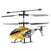 Palm Size 2.5-Channel Remote Control Helicopter with Replaceable Frame (Yellow, Model:8004)