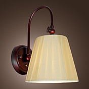 Elegant Style Wall Light in White Shade