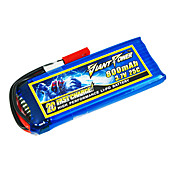 800mAh 3.7V/1S 25C Lipo batteri for RC-modellen