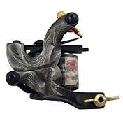 Damascus steel Tattoo Machine Gun For Liner and Shader