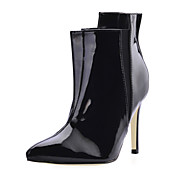 Patent Leather Stiletto Heel Ankle Boots Party / Evening Shoes