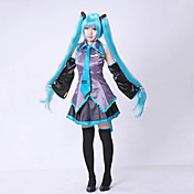 cosplay kostyme inspirert av vocaloid Hatsune Miku