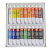 18-Color Acrylic Nail Art Painting Pigment