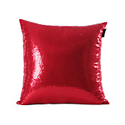 Red Sequins design fronha decorativa