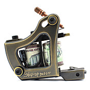 High Quality Copper Carving Tattoo Machine Gun