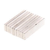 10-Pack Super-Strong Rare-Earth RE Magnets (12x3x1mm)