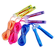 Plastic Handle PVC Adjustable Skipping Rope within a Signature Card (Assorted Colors,3M)