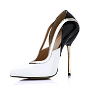 Elegante verniz Stiletto Heel Bombas Pointy Toe partido / Evening Shoes