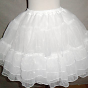Nylon A-Line halvdel 7 Tier Short-lngde Slip Style / Wedding Petticoats