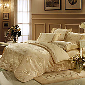 Austin Jacquard Full / Queen Duvet de 4 piezas cover set