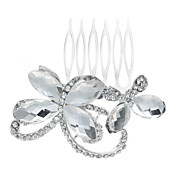 Unique Alloy With Rhinestone Women's Hair Combs