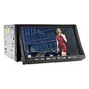 7 tommers 2DIN Car DVD-spiller (Bluetooth, TV, RDS, iPod)
