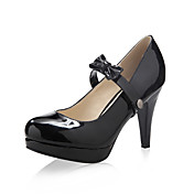 patentansgninger lder verste Stiletto Heel pumper med bowknot fest / aften sko, flere farver aavailable