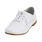 Beautiful Leather Low Heel Loafers &amp; Slip-ons With Lace-up Honeymoon Shoes (More Colors)