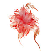 Chic Fabric With Lace / Feather Women's Fascinators / Brooch