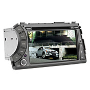 3G(WCDMA) 7 Inch Car DVD Player for Kyron with GPS, Bluetooth, RDS