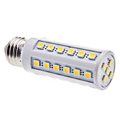 E27 7W 41x5050SMD 630-700LM 2800-3200K Warm White Light LED Corn Bulb (220-240V)