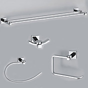 EleganceSolid Brass 4-piece Bathroom Accessory Set B(0605-0401+0407+0405+0411)
