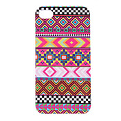 Pattern Purple Stripe Funda protectora dura para el iPhone 4/4S
