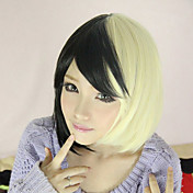 Lolita Wig Inspired by White and Black Mixed Color 45cm Punk