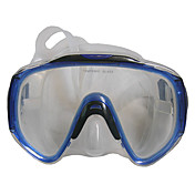 Voksen Integrasjon Professional Herdet Glass / Silikon / PC Dive (Mask Suit for Large Face)