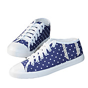 Women's Dots Lace Candy Color Sneakers (Assorted Color)