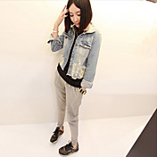 Women's Ripped Denim Jacket