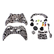 Vervanging Wired Controller Case Shell voor XBOX 360 (Mamba Skin)