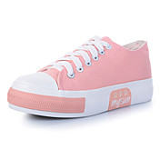 Women's Candy Color Heavy-Bottom Lace-up Shoes (Assorted Color)