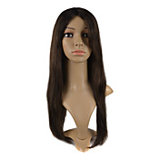 "Capless 100% Indian Remy Hair 22"" Silky Straight Hair Wigs Multiple Colors Availble"