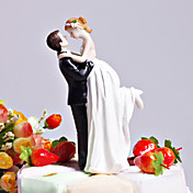 Bride &amp; Groom Wedding Cake Topper &quot;lieben gefegt&quot;