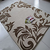 Traditional Pattern Acrylic Hooked Rug(5.25'x7.5')