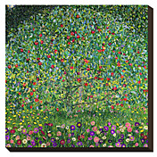 Apple Tree 1912 by Gustav Klimt Famous Stretched Canvas Print