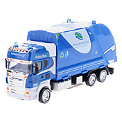 01:42 Sanitation Rengjøring Truck Model (assorterte farger, Model :0783-1)