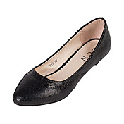 Simple Leather Flat Heel Flats Office / Career Shoes(More Colors)