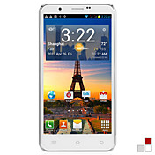 "S4 - 5,7 ""HD kapacitiv Touch Screen (720 * 1280) Android 4.1 Smart Phone med MTK6577 Dual Core CPU 1GB RAM 4GB ROM"