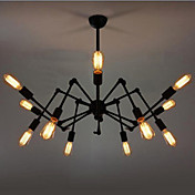 720W Stylish Pendant Light with 12 Bulbs and 12 Robot-Style Arms
