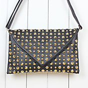 Women's Punk Stylish Rivet Crossbody&amp;Messenger Bag