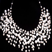 Elegant Pearl Necklaces