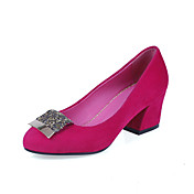 Elegant Leatherette Chunky Heel Pumps Party/Evening Shoes(More Colors)