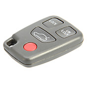 4-Button Remote Key Shell for Volvo AML031202