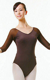 dacewear lycra 3/4-length ermet ballett leotards for damer flere farger