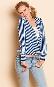 TS Loose Stripes Long Sleeve Shirt