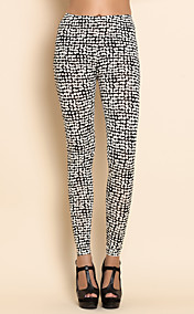 TS Stars Print Leggings