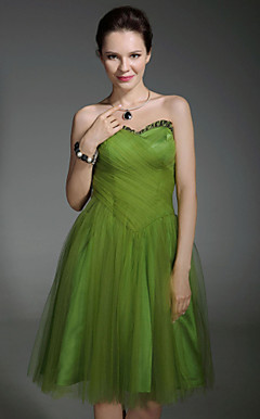 THISBE - Robe de Cocktail Taffetas Tulle
