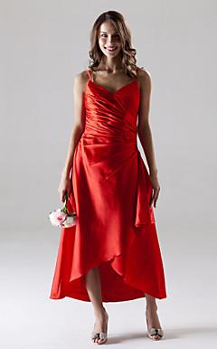 HENDA - Vestido de Casamento e Madrinha em Cetim Elástico