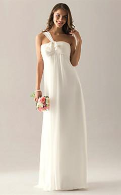 VEVILA - Vestido de Casamento e Madrinha em Chifon e Cetim Elástico