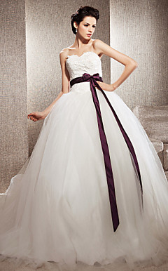 MARGARET - Robe de Marie Tulle