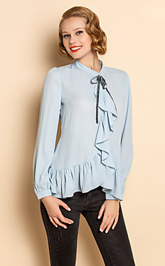 ts vintage flouncing up Bluse Shirt geschnürt